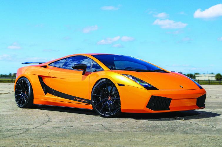 Orange Lamborghini