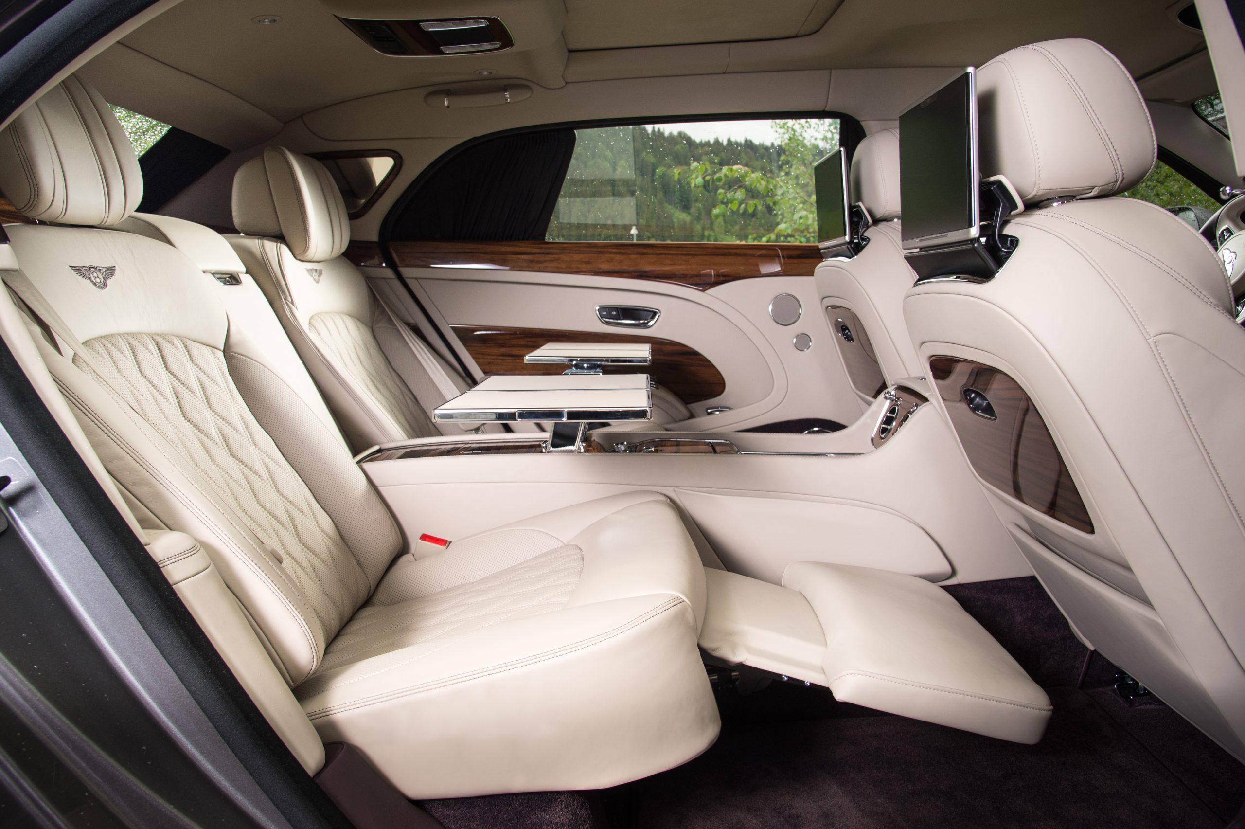 Bentley Mulsanne Extended Wheelbase interior