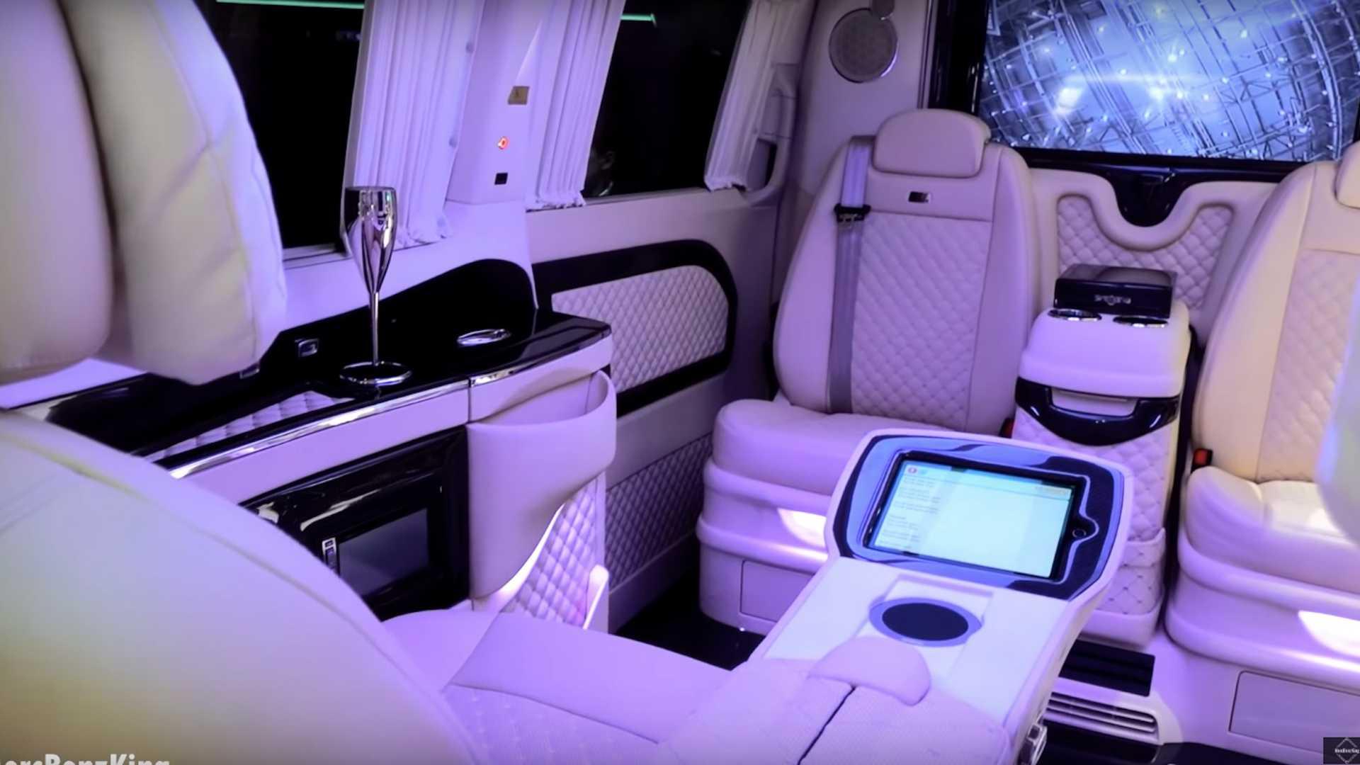 Mercedes V Class Klassen interior