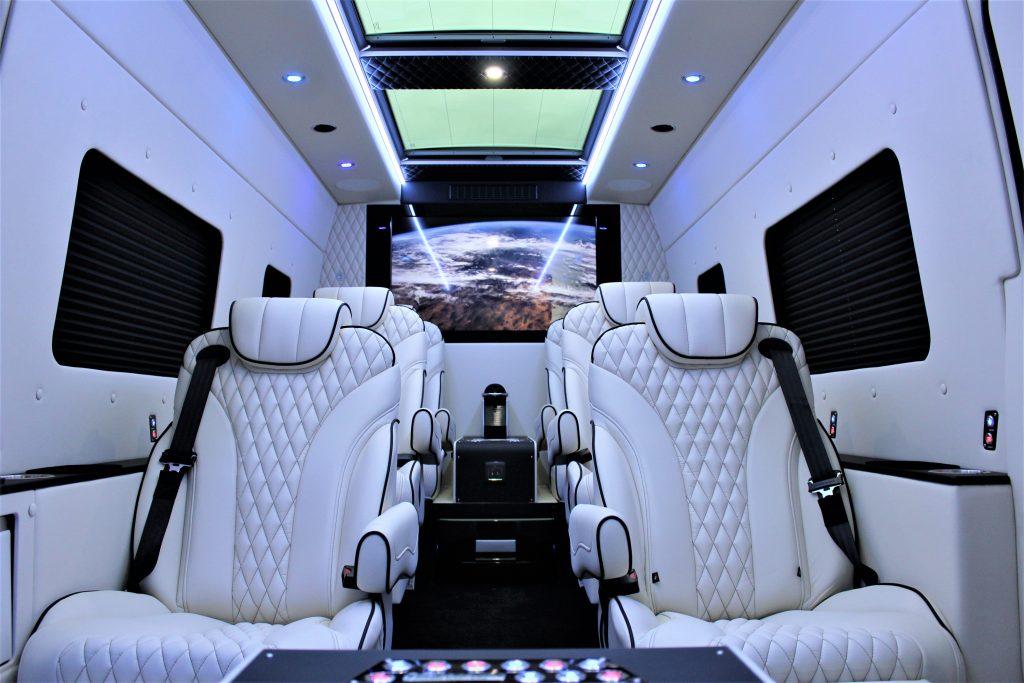 Interior of Mercedes Monaco