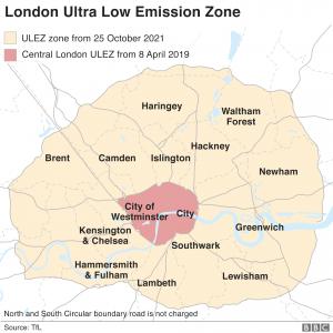 Expanded London ULEZ